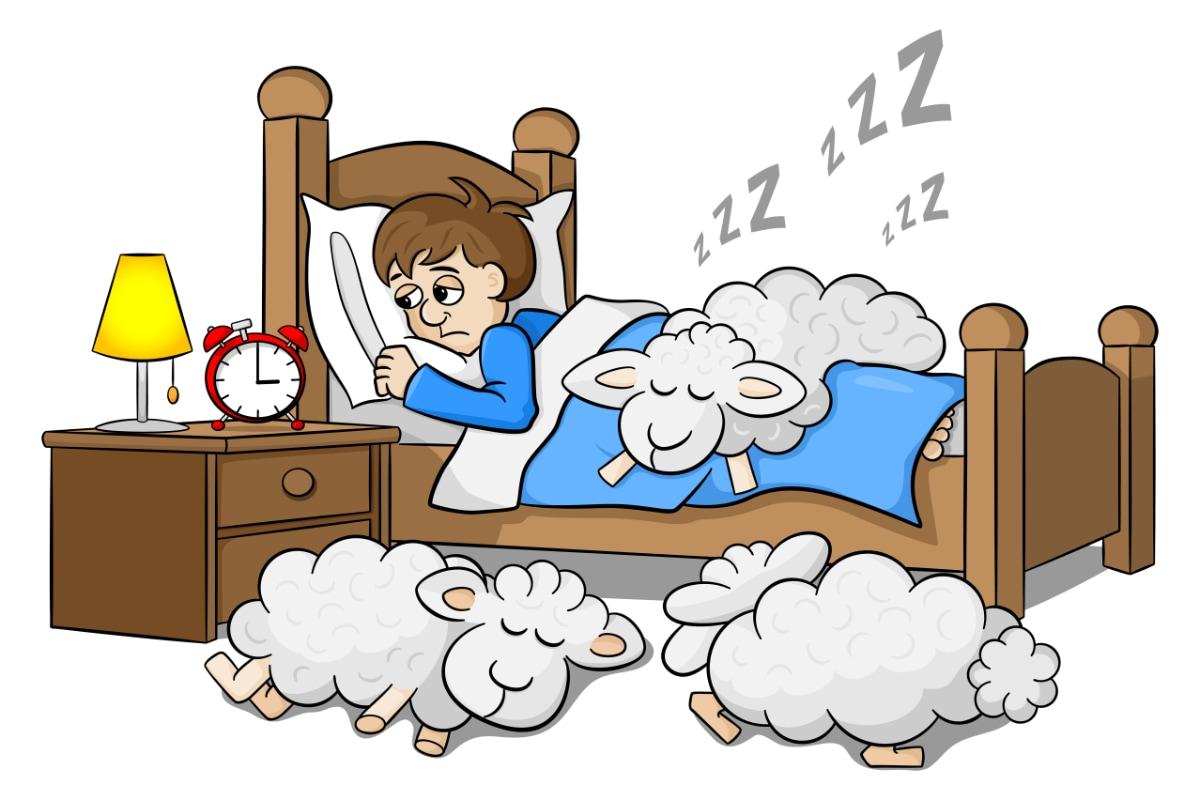 Nespavost - nedostatek hořčíku přes den může způsobit potíže v noci